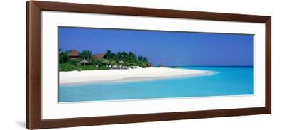 Laguna Beach Maldives--Framed Photographic Print