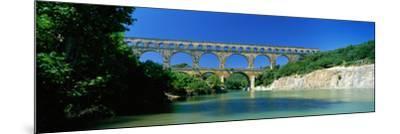 Pont Du Gard Roman Aqueduct Provence France--Mounted Photographic Print