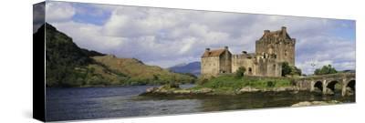 Eilean Donan Castle, Dornie, Ross-Shire, Highlands Region, Scotland--Stretched Canvas Print
