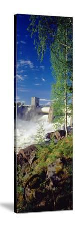 Hydroelectric Dam, Imatra, South Karelia, Finland--Stretched Canvas Print