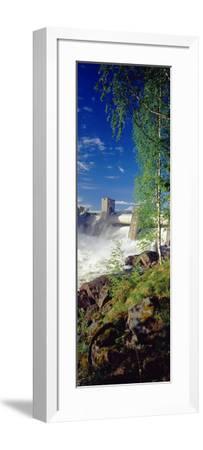 Hydroelectric Dam, Imatra, South Karelia, Finland--Framed Photographic Print
