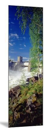Hydroelectric Dam, Imatra, South Karelia, Finland--Mounted Photographic Print