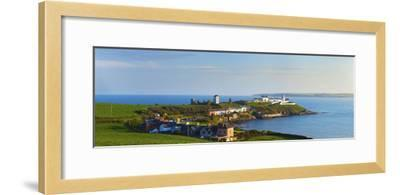 Lighthouse on the Coast, Roche's Point Lighthouse, County Cork, Republic of Ireland--Framed Photographic Print