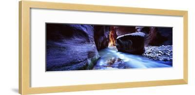 Virgin River at Zion National Park, Utah, USA--Framed Photographic Print