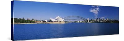 Opera House at the Waterfront, Sydney Opera House, Sydney, New South Wales, Australia--Stretched Canvas Print