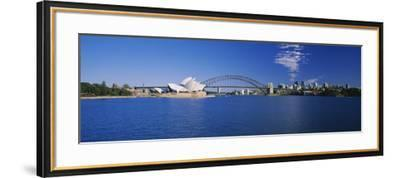 Opera House at the Waterfront, Sydney Opera House, Sydney, New South Wales, Australia--Framed Photographic Print