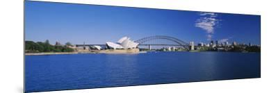 Opera House at the Waterfront, Sydney Opera House, Sydney, New South Wales, Australia--Mounted Photographic Print