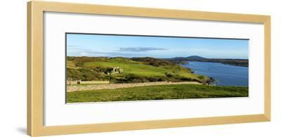 Castle on a Hill, Clifden Castle, Clifden, Connemara, County Galway, Republic of Ireland--Framed Photographic Print