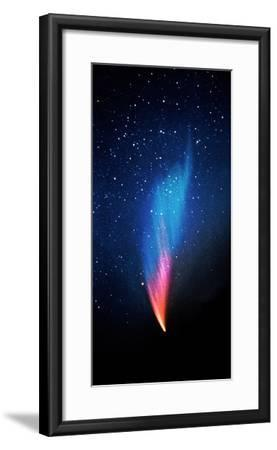 Comet (Photo Illustration)--Framed Photographic Print
