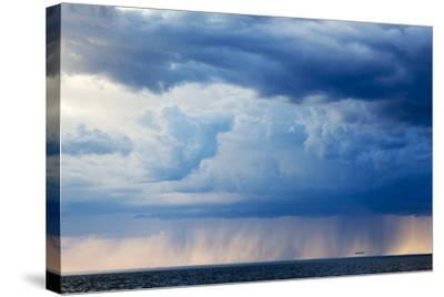 Storm Clouds, Hudson Bay, Canada-Paul Souders-Stretched Canvas Print