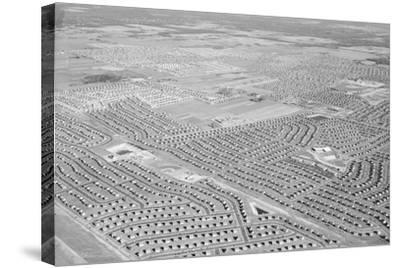 New York Suburb of Levittown--Stretched Canvas Print