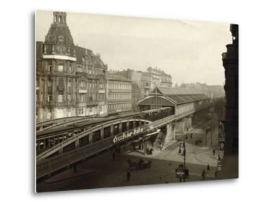 Danziger Street Railway Station--Metal Print