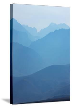Sierra Nevada Mountains, California--Stretched Canvas Print