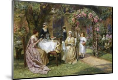 The Tea Party-George Sheridan Knowles-Mounted Giclee Print