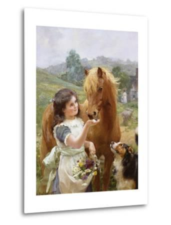 A Sweet Tooth-Alfred William Strutt-Metal Print