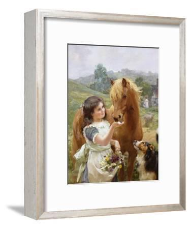 A Sweet Tooth-Alfred William Strutt-Framed Giclee Print
