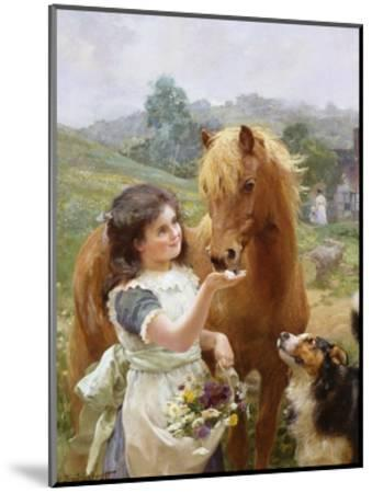 A Sweet Tooth-Alfred William Strutt-Mounted Giclee Print