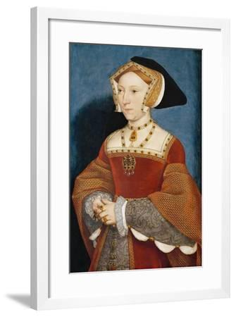 Jane Seymour, Queen of England-Hans Holbein the Younger-Framed Giclee Print