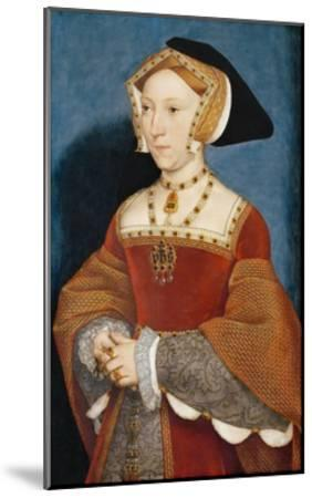 Jane Seymour, Queen of England-Hans Holbein the Younger-Mounted Giclee Print