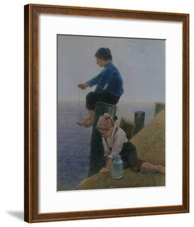 Happy Days-Hector Caffieri-Framed Giclee Print