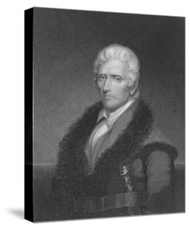 Daniel Boone-James Barton Longacre-Stretched Canvas Print
