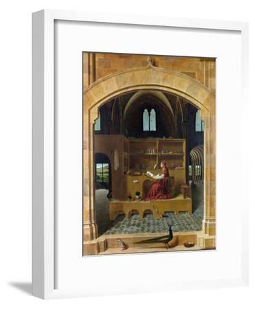 Saint Jerome in His Study-Antonello da Messina-Framed Giclee Print