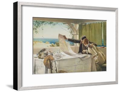 Where Next?-Edward Frederick Brewtnall-Framed Giclee Print