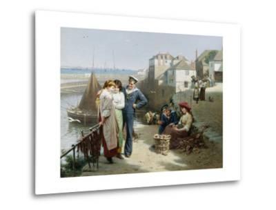 Naval Manoeuvres-Edwin Roberts-Metal Print