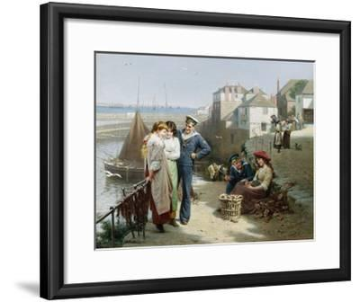 Naval Manoeuvres-Edwin Roberts-Framed Giclee Print