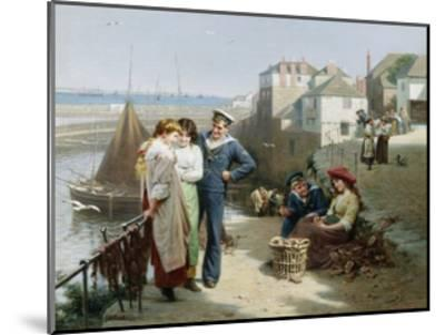 Naval Manoeuvres-Edwin Roberts-Mounted Giclee Print