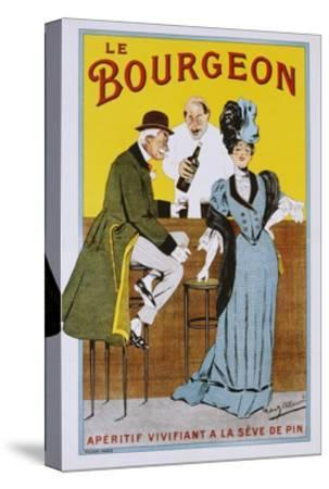 Le Bourgeon Poster-Robert Allouard-Stretched Canvas Print