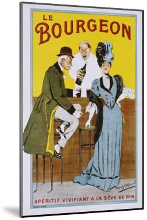Le Bourgeon Poster-Robert Allouard-Mounted Giclee Print