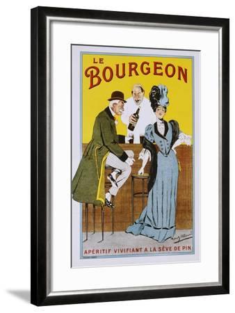 Le Bourgeon Poster-Robert Allouard-Framed Giclee Print