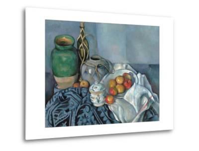 Still Life with Apples-Paul C?zanne-Metal Print