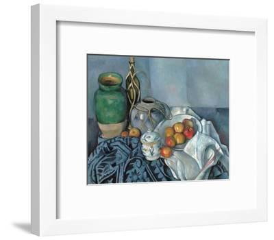 Still Life with Apples-Paul C?zanne-Framed Giclee Print