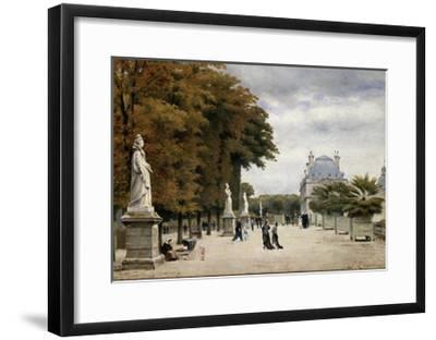 The Luxembourg Gardens, Paris, France-Stanislas-Victor-Edmond Lepine-Framed Giclee Print