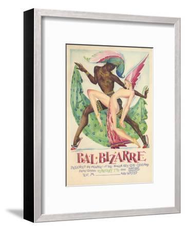 Bal Bizarre Poster--Framed Giclee Print