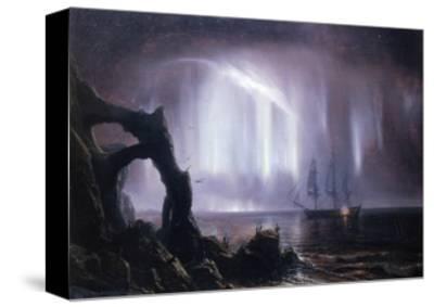 The Northern Lights (Aurora Borealis)-Theodore Gudin-Stretched Canvas Print