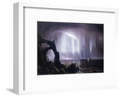 The Northern Lights (Aurora Borealis)-Theodore Gudin-Framed Giclee Print
