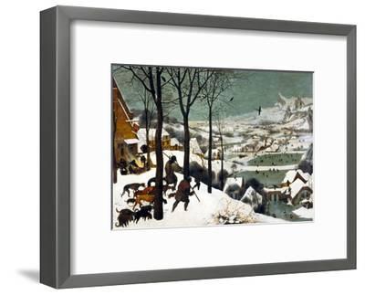 Hunters in the Snow (Winter)-Pieter Bruegel the Elder-Framed Giclee Print