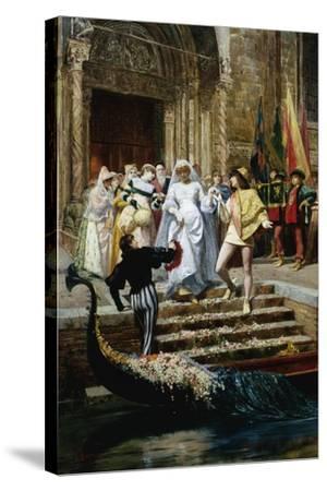 The Wedding-Pietro Gabrini-Stretched Canvas Print