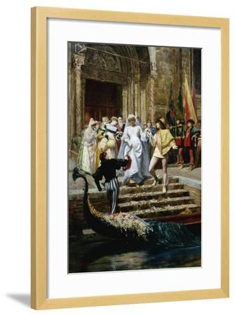 The Wedding-Pietro Gabrini-Framed Giclee Print