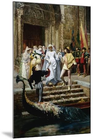 The Wedding-Pietro Gabrini-Mounted Giclee Print