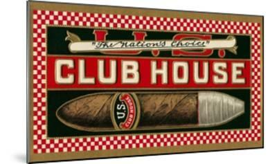 Ad for Club House Cigar--Mounted Giclee Print