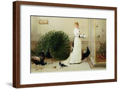 In the Conservatory Heywood Hardy--Framed Giclee Print