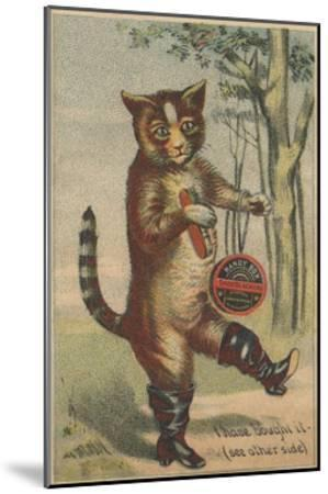 I Have Bought it Handy Box Shoe Blacking Trade Card--Mounted Giclee Print