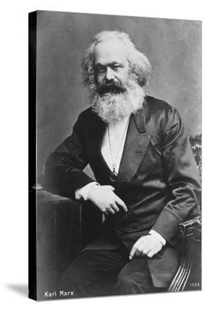 Karl Marx--Stretched Canvas Print