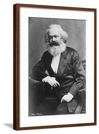Karl Marx--Framed Giclee Print