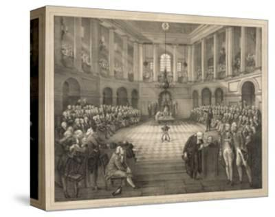 The Last Parliament of Ireland--Stretched Canvas Print