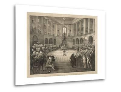 The Last Parliament of Ireland--Metal Print